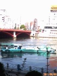 隅田川と船(何をしているの?)